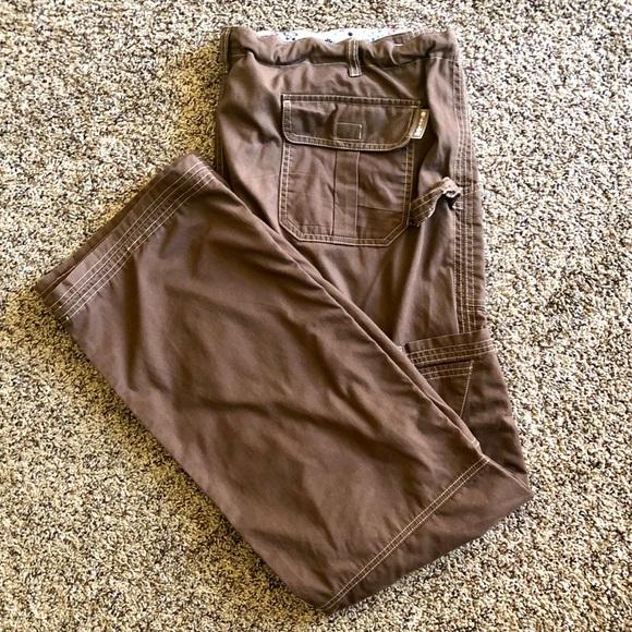 KOI Chocolate Brown Scrub Pants (tall)
